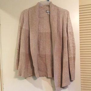 Charter Club cream sweater